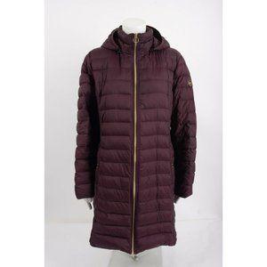 Michael Kors Womens Packable Down Long Jacket Coat